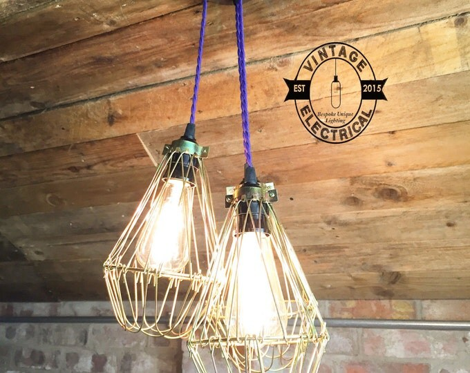 cage lightings etsy