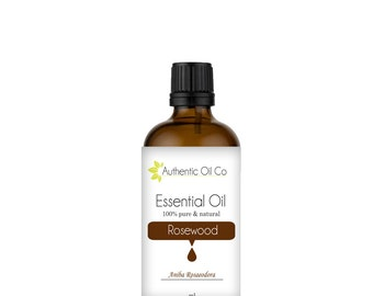 Rosewood Essential Oil 100% Pure 10ml 50ml 100ml