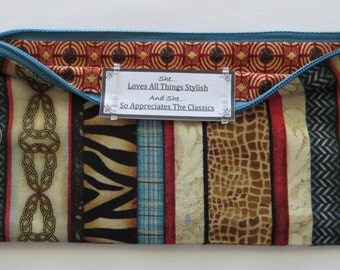 Persette #39 Personalized Zippered Organizing Pouch