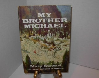 My Brother Michael,  Mary Stewart,  Hardcover Book, Free Shipping