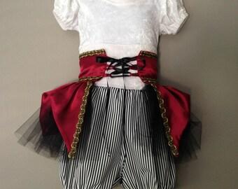 Pirate, Pirate costume, Pirate shirt, kids pirate costume, pirate girls costume, birthday, child pirate, cosplay costume, Disney cosplay