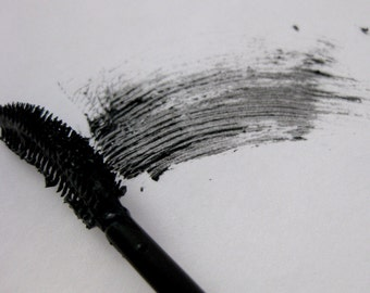 Natural Black Mascara - Mica and Oxide Free, Non-Toxic