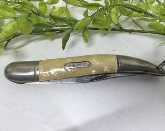Vintage Fishing Pocket Knife Jowika Republic of Ireland Stainless