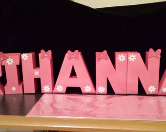 Minnie Mouse Theme 3D Name