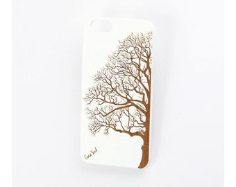 White Half Tree iPhone 7 case, iphone 6s case iphone 6 case iphone 5 case iphone 6s plus case iphone 6 plus case