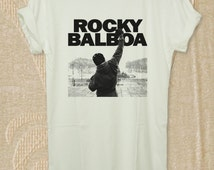 Rocky Balboa Shirt Tshirt Rocky Balboa Shirt T-shirt Black, White Color For Men and Woman Unisex Shirt Size S,M,L,XL RockyBalboa1