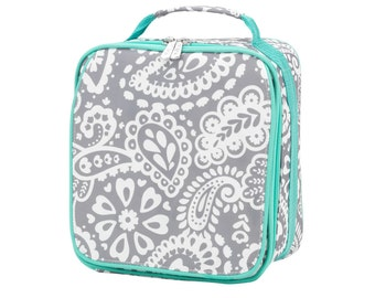 Pre-Order your Parker Paisley Lunch Box - Free Embroidery Back in stock March 3rd