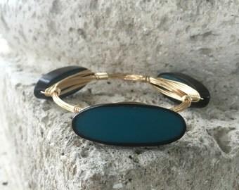 Inner Blue Bangle
