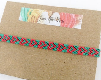 Heart Friendship bracelet / Cute bracelets / Valentine's Day bracelet / Colorful bracelet / Handmade bracelet / Summer fashion /
