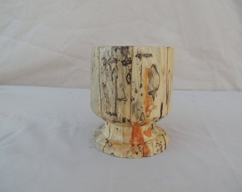 Pencil Holder Spalded Wood