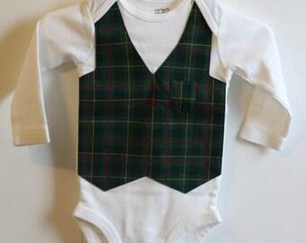 Baby Boy Vest Onesie