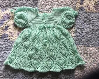 Girls crochet dress size 1