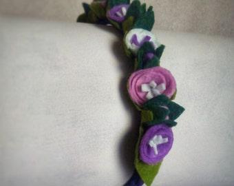 Elastic tape / Tiara for flower girls