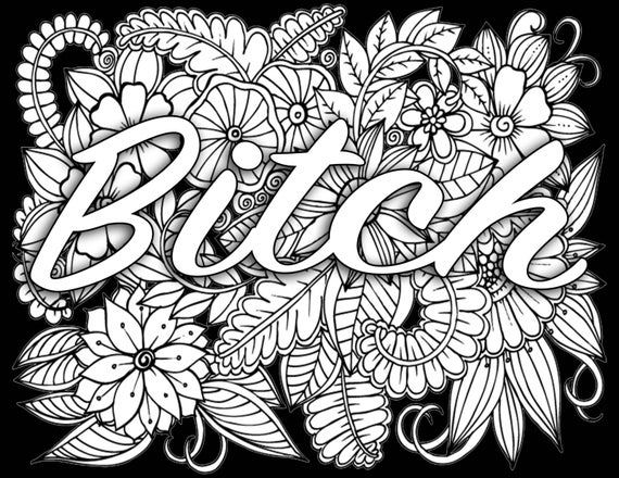 Release Your Anger Coloring Book Pages