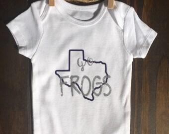 TCU Horned Frogs Onesie