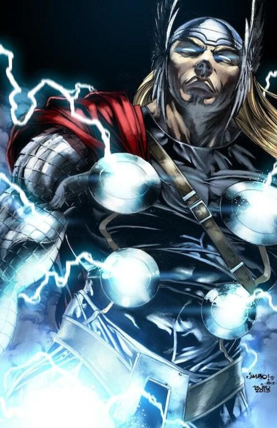 artwork gods lightning marvel - photo #5