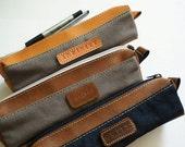 Pencil case canvas, Personalized pencil case, Dopp Kit, Pencil bag,Toiletry bag, Mens Toiletry Bag,Personalized Dopp Kit, Custom Pencil Case