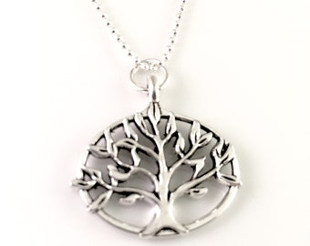Mothers necklace, family tree necklace, charm necklace, for mom, for sister , grandmother, best friend, birthday gift for her