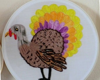 Colorful Gooble Turkey Friend
