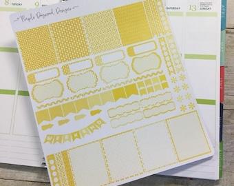 Yellow Life Planner Theme!