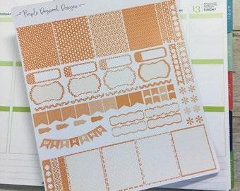 Orange Life Planner Theme!