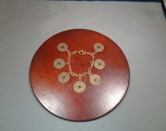 Chinese Coin Bracelet