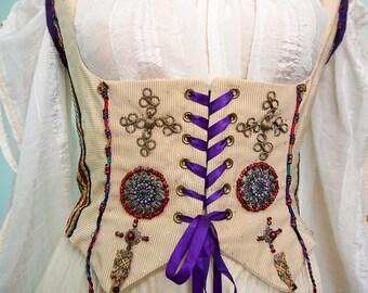 Gypsy boned bodice