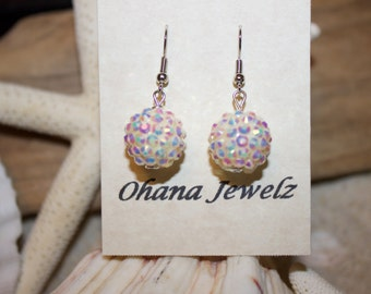 Sparkle Snowball Earrings
