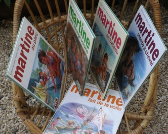 Book Martine vintage / vintage child's french books / collection old MARTINE books / Albums for child