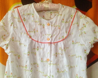 vintage nightie nightwear negligee 70's Liyon Japan size M