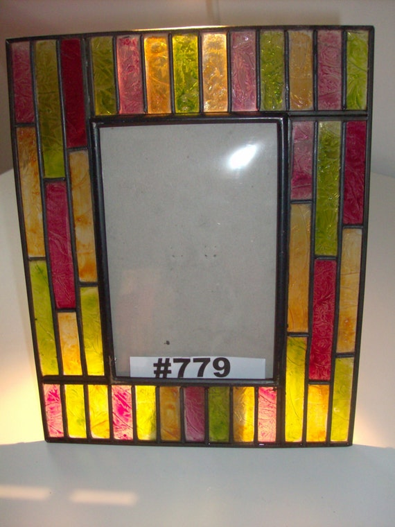 stained glass picture frame stained glass by