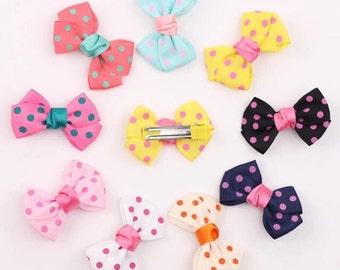 Polka Dot Mini Bows