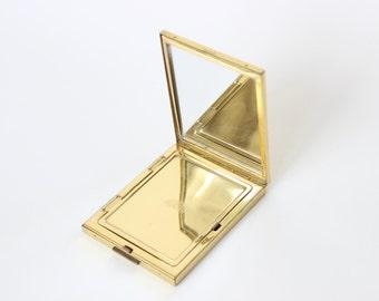 Vintage Pygmalion Compact Gold Tone