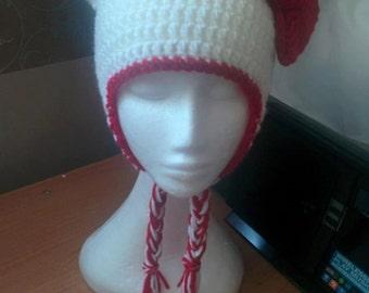 Teen/Adult Hello Kitty Inspired Hat