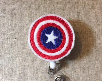 Pink Captain America Etsy