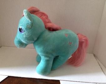 Vintage My Little Pony Plush (blue)
