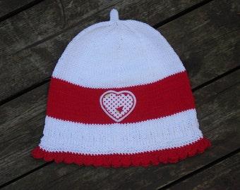 Hat - hats - Beanie KU 48-52 - Beanie - Beanie - Cap - tree Cap - headgear - handmade