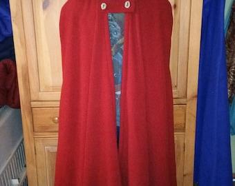 Custom Fleece Cloak
