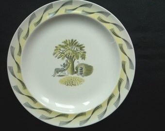 Wedgwood Eric Ravilious 'Garden' Plate - 9.25 inch (23.5cm)