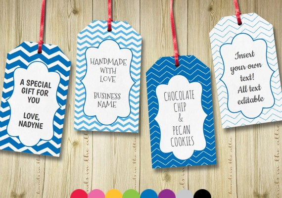 goodie bag tag template - editable gift tags gift tag template text by handsintheattic