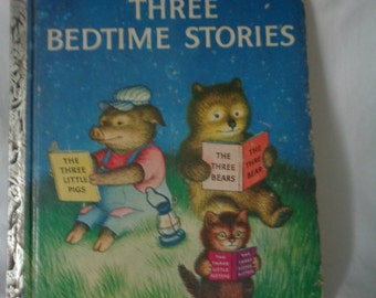 Three Bedtime Stories, A Little Golden Book, Simon & Schuster, 1958