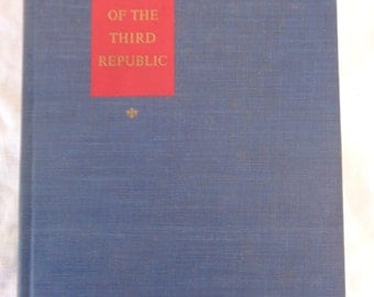 The Collapse of the Third Republic, William L. Shirer, 1969, First Printing, Hardcover no DJ