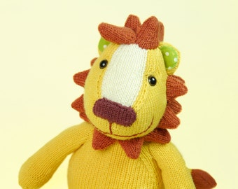 Löwe the Lion – knitting pattern