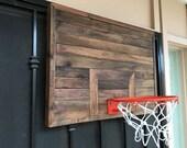 Handmade wooden Basketball Hoop