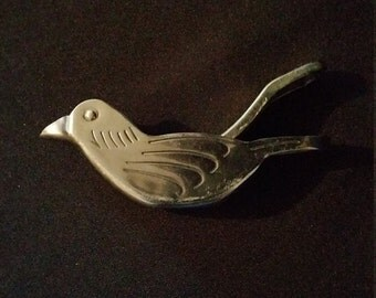 French Vintage Metal Bird Lemon Wedge Squeezer or Juicer