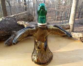 Vintage Avon Bottle - Mallard-in-Flight - Tai Winds Cologne