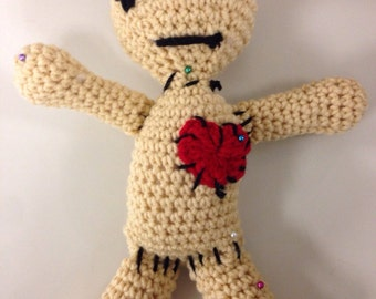 Crocheted Voodoo Dolls