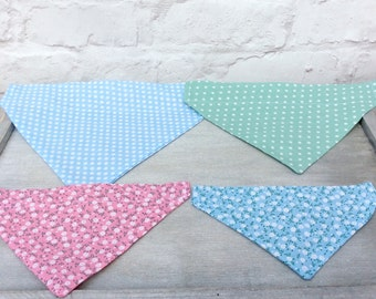 Dog bandana, Cat bandana, Dog neckerchief, Pet accessories, Dog collar, Personalised dog bandana, Personalised cat bandana, Gifts for pets