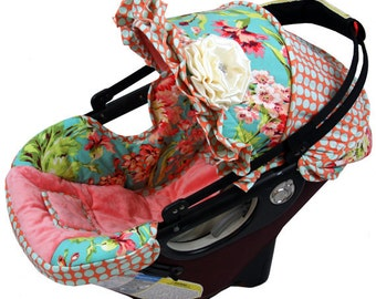 Orbit Custom Car Seat Cover, Orbit G1, G2, G3 Baby Car Seat Custom Covers, Love Bliss Orbit Baby Covers, Over the top Orbit Carseat Covers