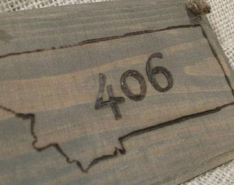 Montana, 406 Sign